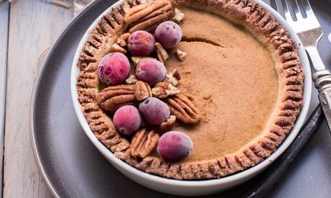 The Ultimate Healthy Pumpkin Pie