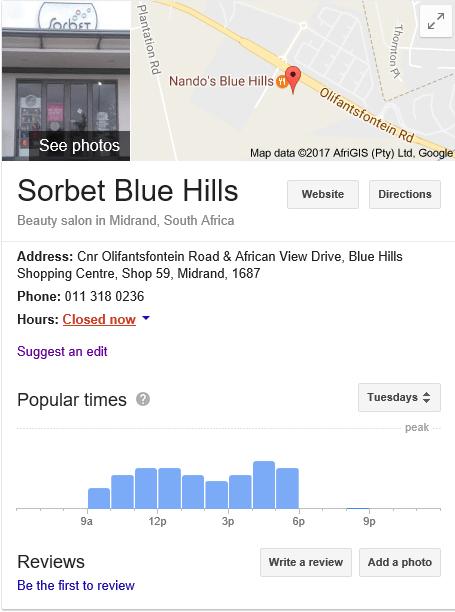 Sorbet Blue Hills