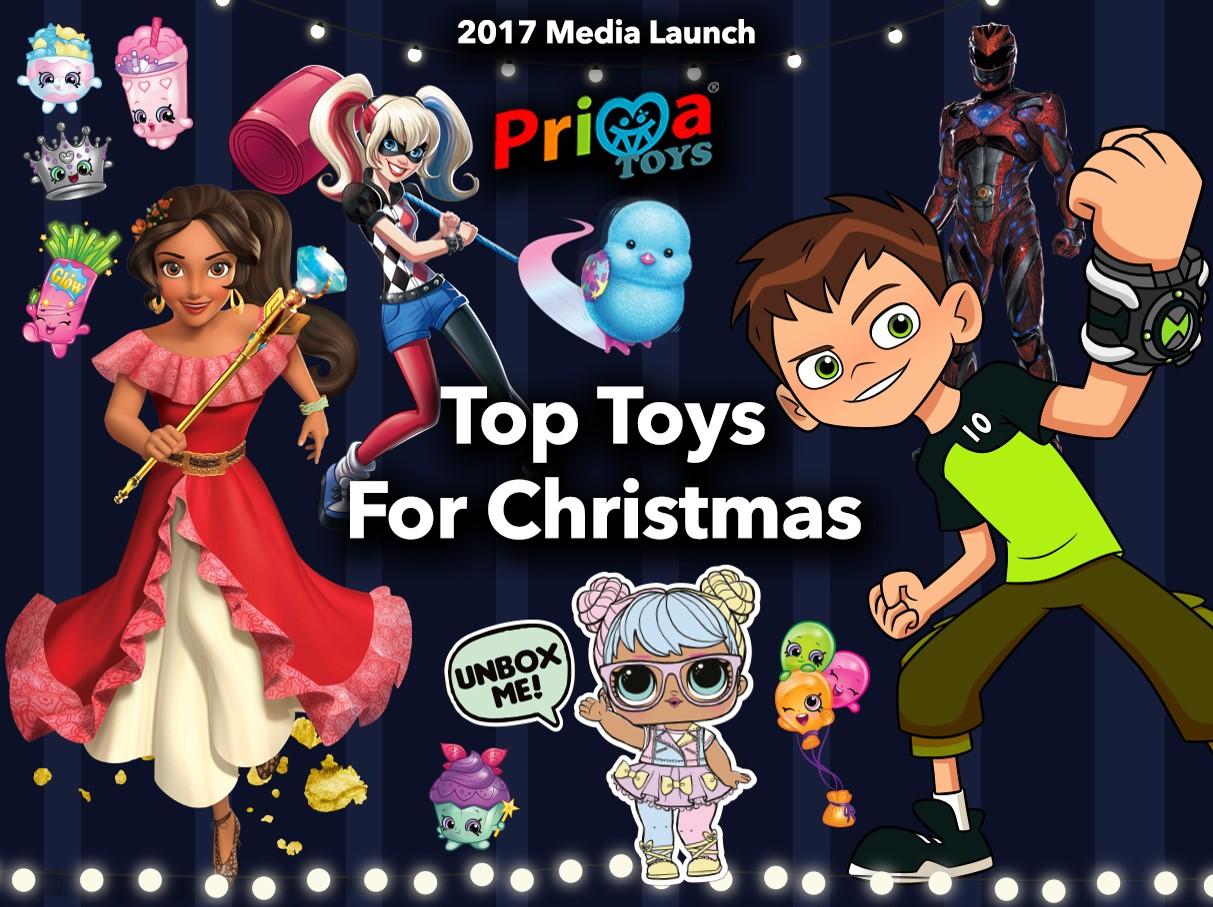 Prima Top Toys for Festive Season 2017