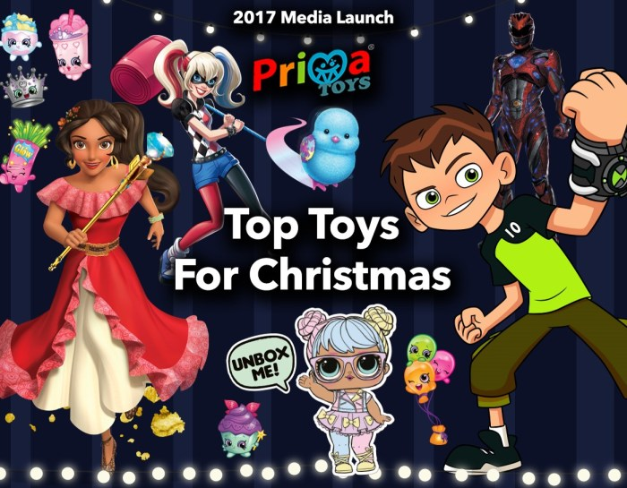 Prima Top Toys for Festive Season 2017