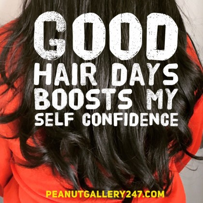 Good Hair Days - PeanutGallery247