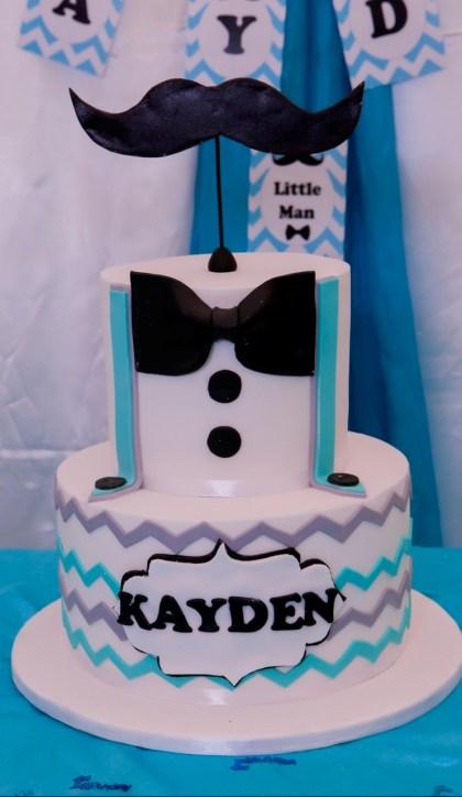 Little Man Birthday Cake - PeanutGallery247