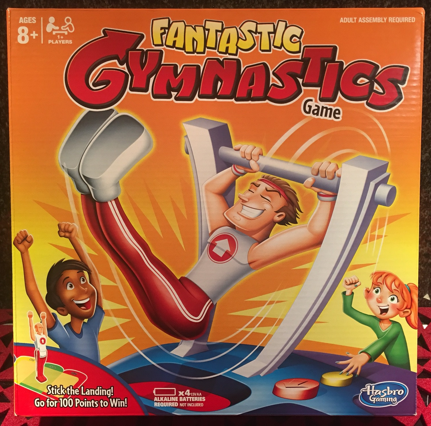 REVIEW: Fantastic Gymnastics Game