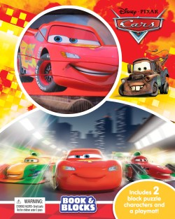 Cars - Book and Blocks - PeanutGallery247