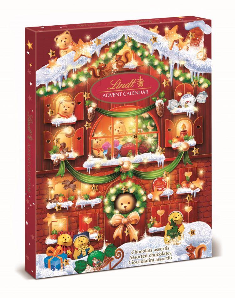 LINDT Chocolate TEDDY Advent Calendar 172g - PeanutGallery247