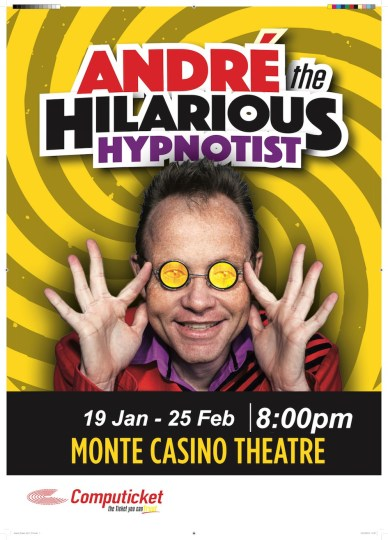 Andre the Hilarious Hypnotist - PeanutGallery247