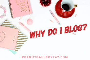 Why Do I Blog - PeanutGallery247