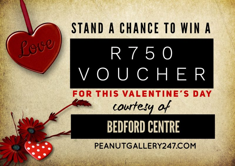 Win a R750 Voucher for Valentine's Day with Bedford