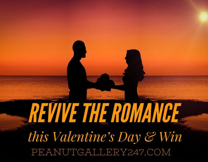 Revive the Romance this Valentine's Day & Win