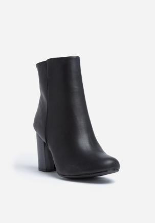 Genna Black Boots a - PeanutGallery247