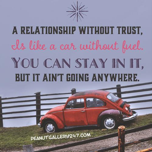 Let's Talk about TRUST