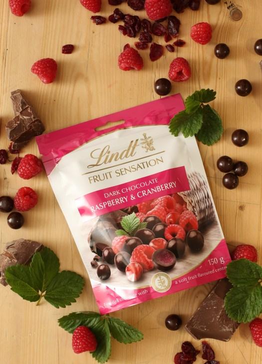 Lindt Fruit Sensation_Raspberry & Cranberry - PeanutGallery247