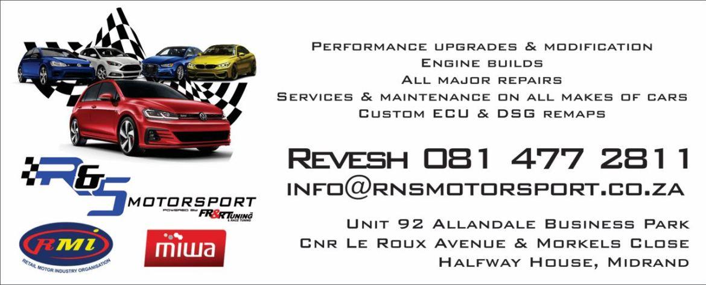 RNS Motorsport Midrand - PeanutGallery247