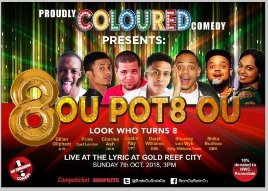 Proudly Coloured Comedy PCC Lyric Theatre - PeanutGallery247