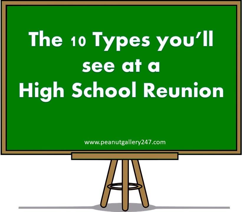 High School Reunion - PeanutGallery247