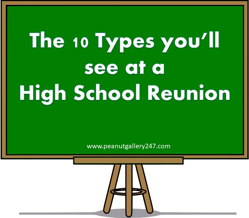 High School Reunion - PeanutGallery247