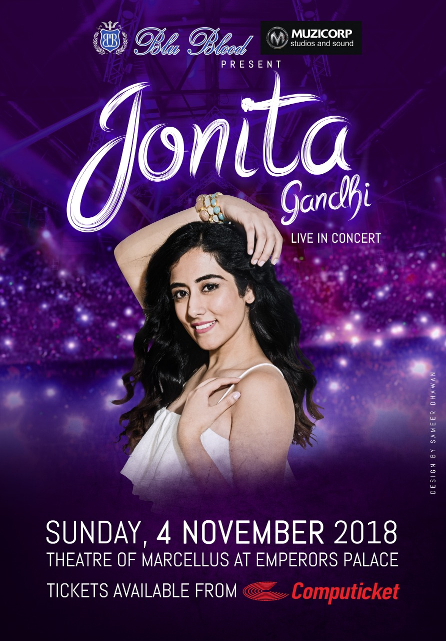 Jonita Gandhi to perform in SA - PeanutGallery247