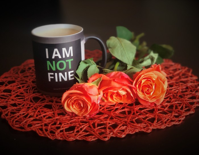 Domestic Violence – I am NOT fine