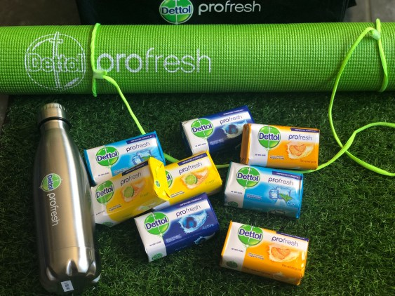 How to trigger happiness by being active - Dettol ProFresh - PeanutGallery247