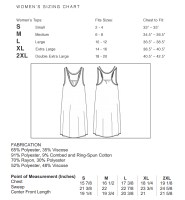 Peanut in my Belly Tank Sizing Chart