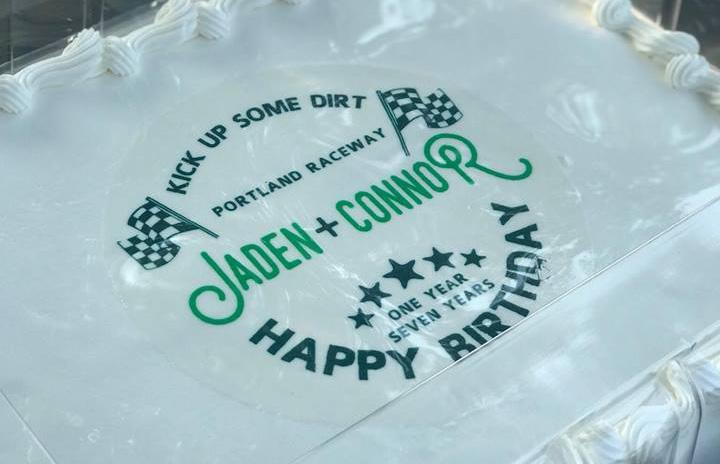 Jaden Connors Motocross Birthday Party