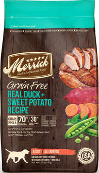 Merrick Real Duck and Sweet Potato Dog Food