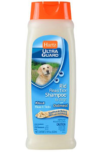 Hartz Flea and Tick Shampoo
