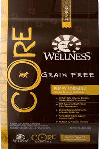 Wellness CORE Natural Grain Free Dry Dog Food Puppy Formula