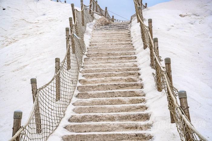 【台南景點】七股鹽山&鹽博物館&遊客中心;不可以跌倒的景點,別讓鹽山在你傷口撒鹽
