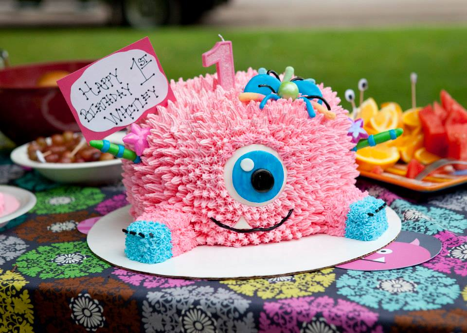 Girls Birthday Party Ideas Monster Theme Pear Tree Blog