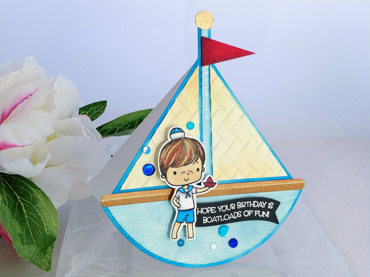 Sailboat Rocker Card