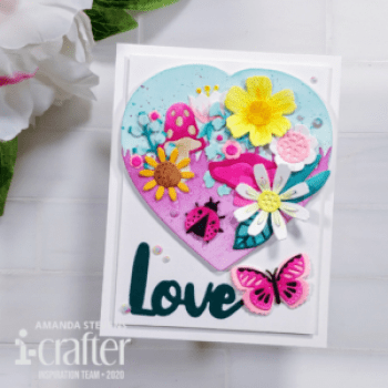 Mini Scene on Die Cut i-crafter