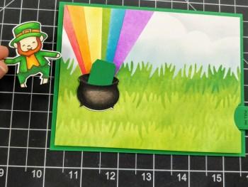 Dancing Leprechaun Interactive Card Heffy Doodle
