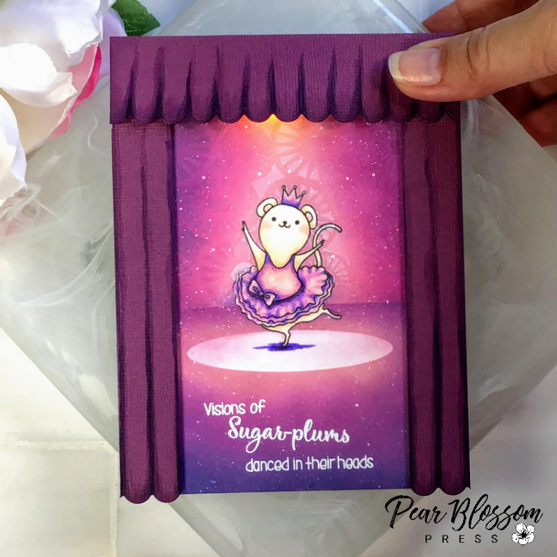 Sugar Plum Fairy Light-up Card
