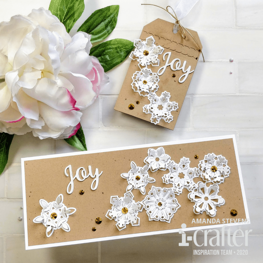 Quick & Easy Snowflake Bursts