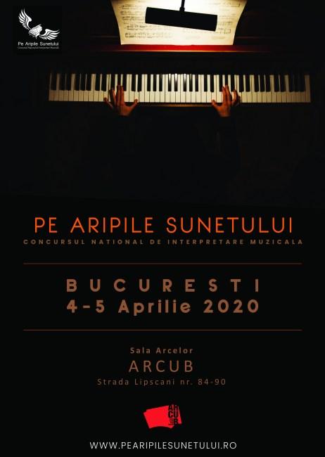 pe aripile sunetului - aprilie - Bucuresti 2020