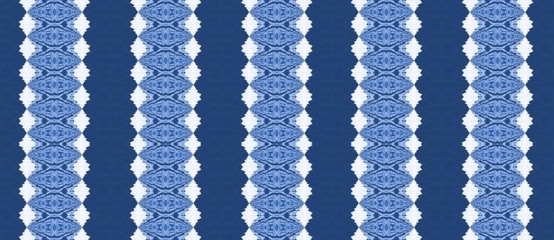 Lou Blue Cobalt Stripe Pearl and Maude