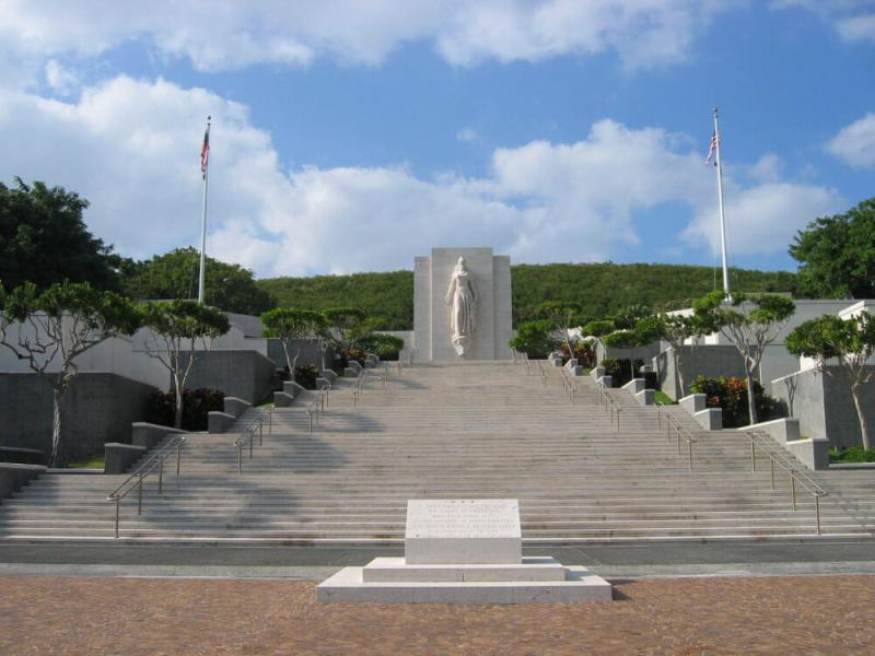 The Courts of the Missing   Pearl Harbor Reservations Courts of the Missing  National Memorial Cemetery of the Pacific