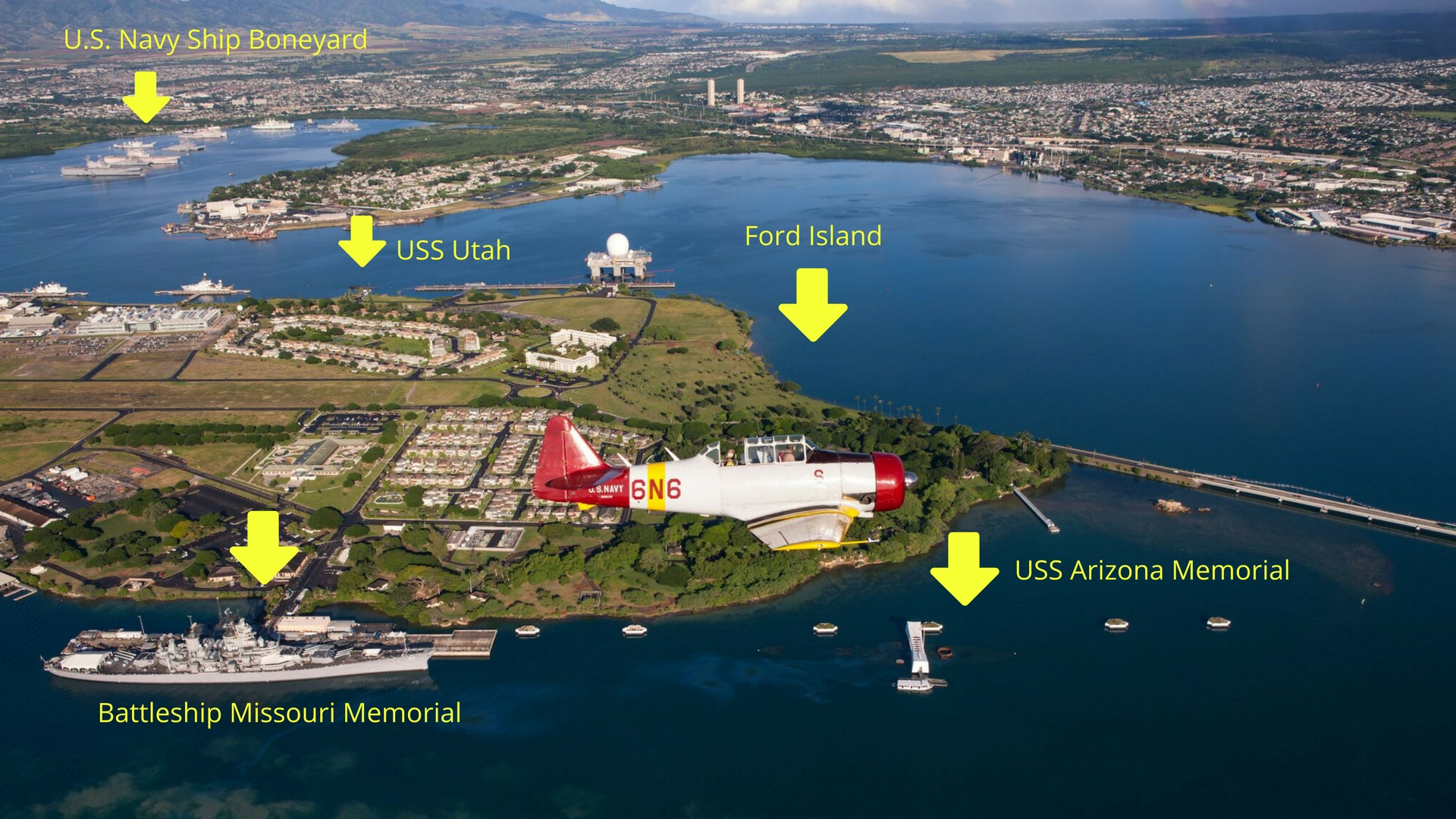 Getting An Aerial View Of Pearl Harbor Today Pearl Harbor