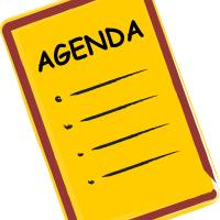 What is Your Agenda?