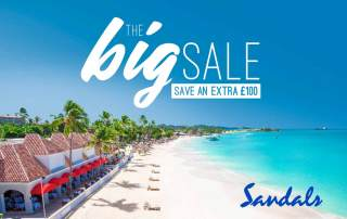 Pearl King Travel - Sandals Grande Antigua Offer - Feb 18