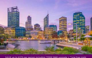 Pearl King Travel - 11 nights Perth, Margaret River, South-West & Melbourne - offer Apr 18