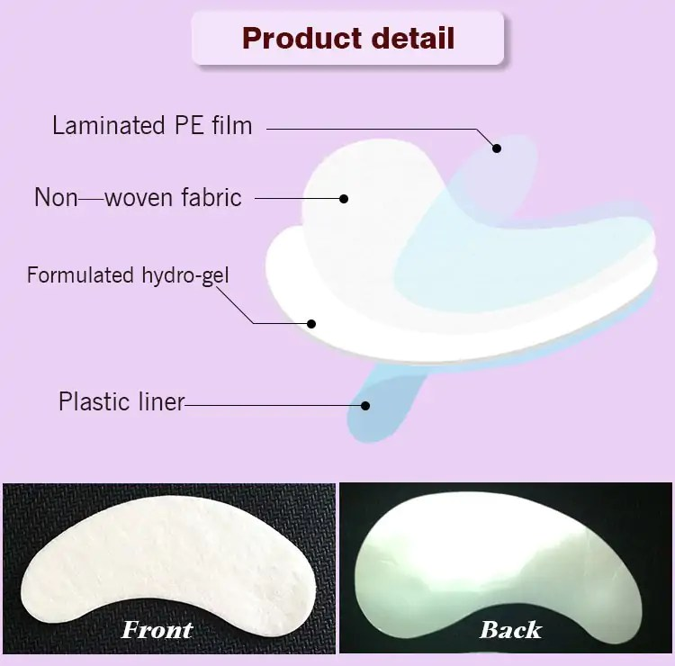 Hydro-gel Eye Patch for Eyelash Extensions