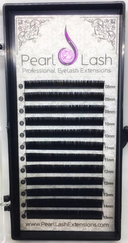 Individual Eyelash Extension Tray by Pearl Lash