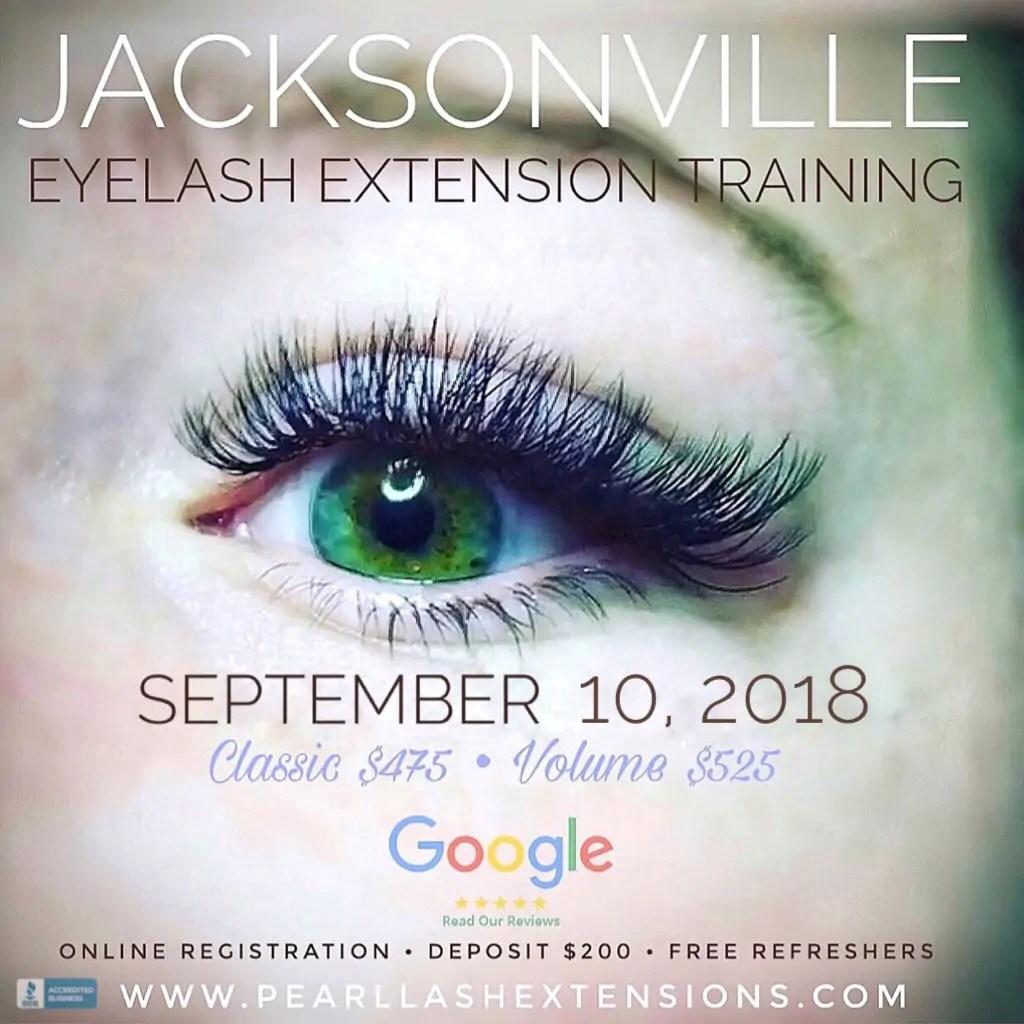 Eyelash Extensions The Splurge You Deserve: Jacksonville Eyelash Extension Training Event September 10