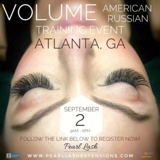 Atlanta Volume Eyelash Extension Training