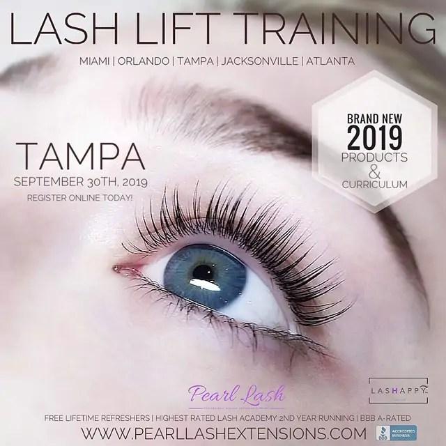 Eyelash Extensions The Splurge You Deserve: Tampa Eyelash Lift & Tint With Keratin Training 9/30/2019