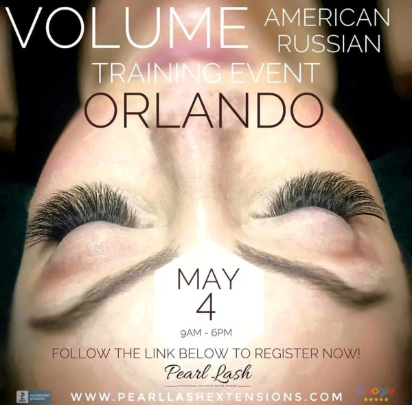 Volume Eyelash Extension Training Orlando