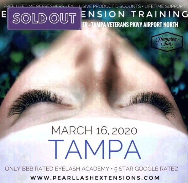 Eyelash Extension Training by Pearl Lash Tampa