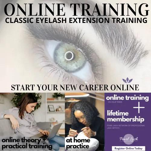 Online Classic Eyelash Extension Training